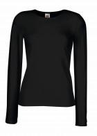 Naiste pikkade varrukatega elastne T-särk